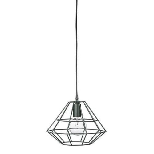 Bloomingville Pernille hanglamp small donkergroen