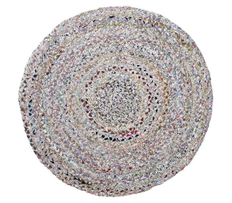 Rond tapijt diverse kleuren Ø90 cm