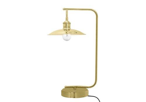 Bloomingville Metalen tafellamp - goudkleurig