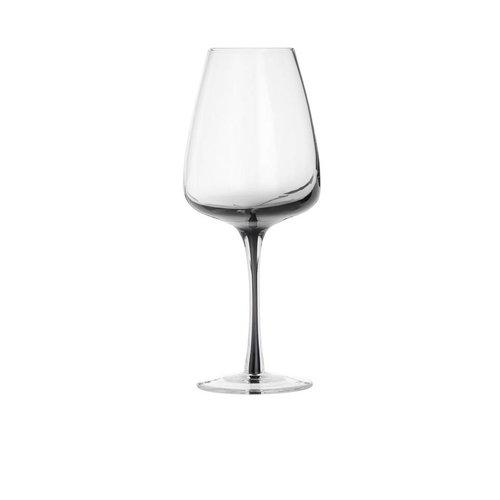 Broste Copenhagen Smoke wittewijnglas doorzichtig/grijs