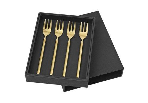 Broste Copenhagen Tvis dessertvork roestvrij staal titanium rose gold