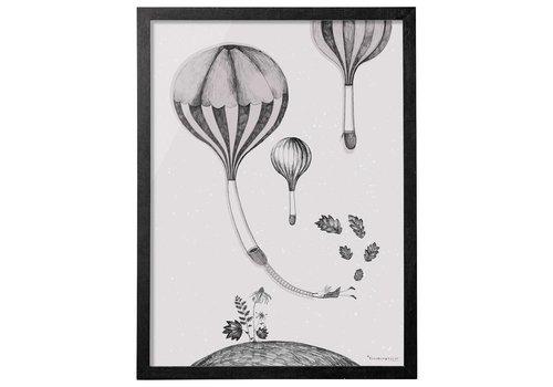 Bloomingville Kader luchtballon over heuvel