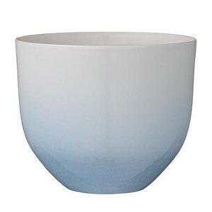 Bloomingville Bloempot Gradient Blauw/wit
