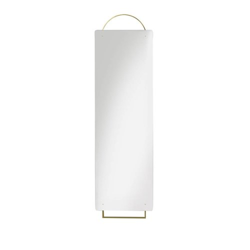 Ferm Living Adorn spiegel full-size messing