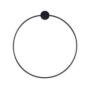 Ferm Living Black handdoekhanger
