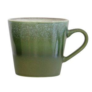 HK Living 70's cappuccino mok grass