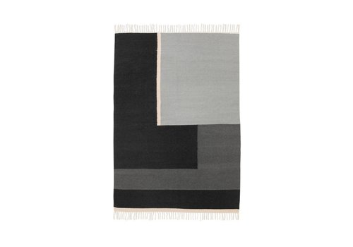 Ferm Living Kelim tapijt - Section - Large 140 x 200 cm