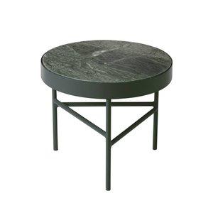 Ferm Living Marble table groen small bijzettafel Ø 40
