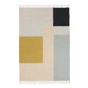 Ferm Living Squares kelim tapijt large
