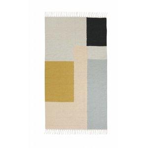 Ferm Living Squares kelim tapijt small