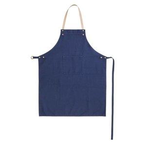 Ferm Living Keukenschort blauw