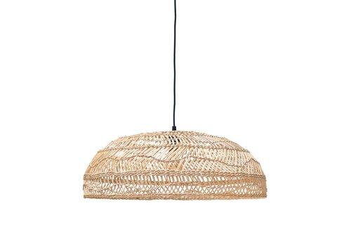 HK Living Rieten hanglamp medium