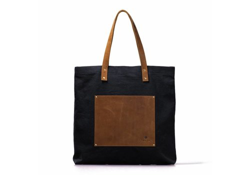 O My Bag Lou's big bag black handtas
