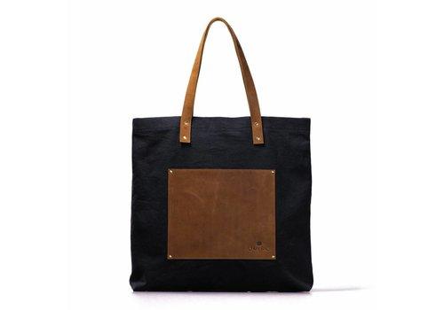 O My Bag Lou's big bag zwart handtas