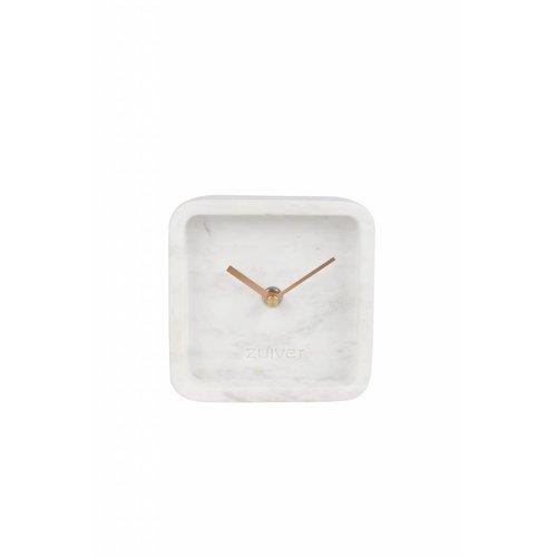 Zuiver Marmeren klok luxury time tafelmodel