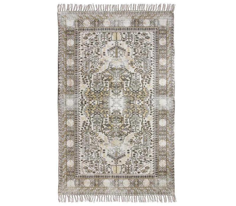 Extra oververfd tapijt