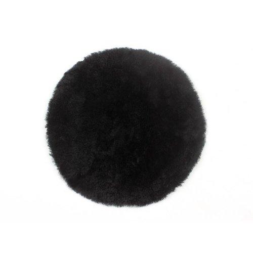 Auskin Stoelpad schapenvacht shortwool Ø 35 cm