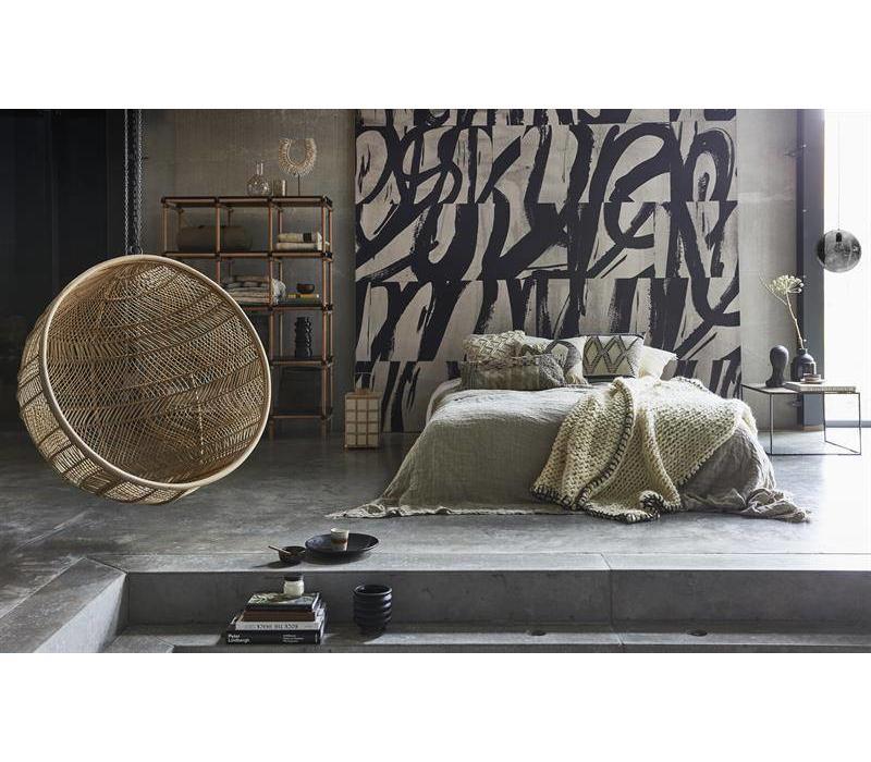 Design Hangstoel Binnen.Rotan Hangstoel Bal Naturel Bohemian Vida Design