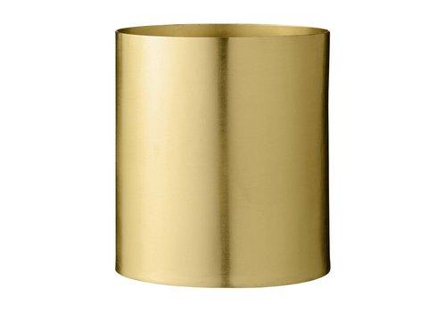 Bloomingville Metalen bloempot goud Ø 13 x H 14 cm