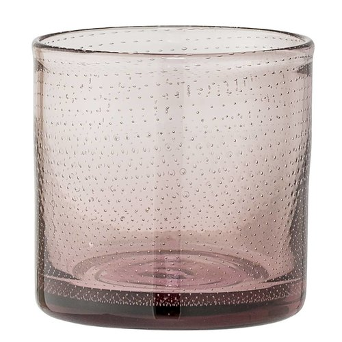 Bloomingville Theelichthouder Rose glas