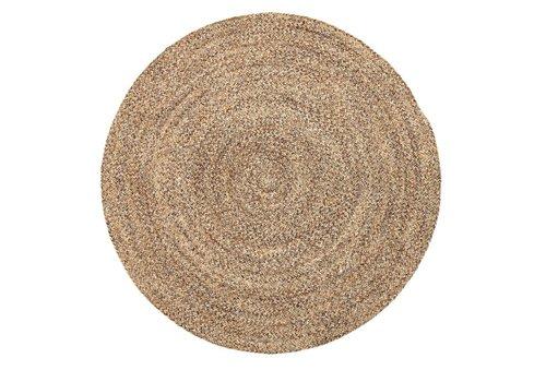 Bloomingville Rond tapijt wol Ø120 cm