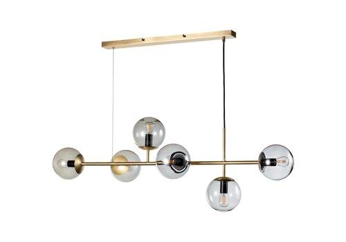 Bolia Orb hanglamp mat antiek messing