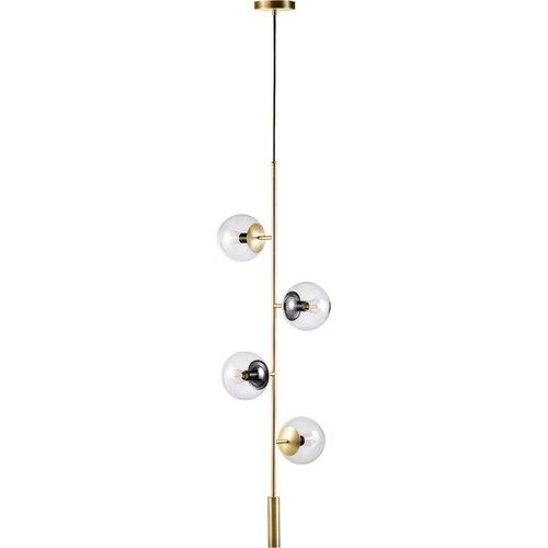 Bolia Orb lounge hanglamp mat antiek messing