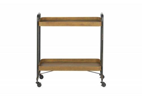 BePureHome Rusty trolley metaal roest