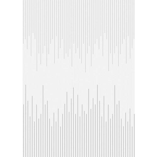 Mette Ditmer Afwasbaar tafelkleed Piano Zilver per cm