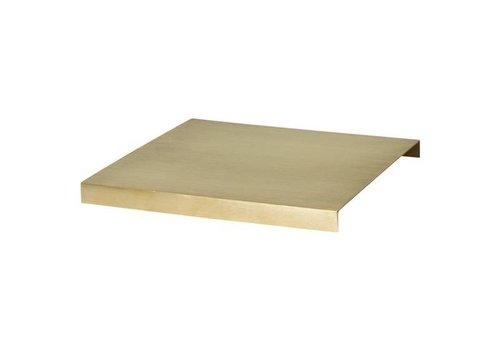 Ferm Living Messing plank voor plant box