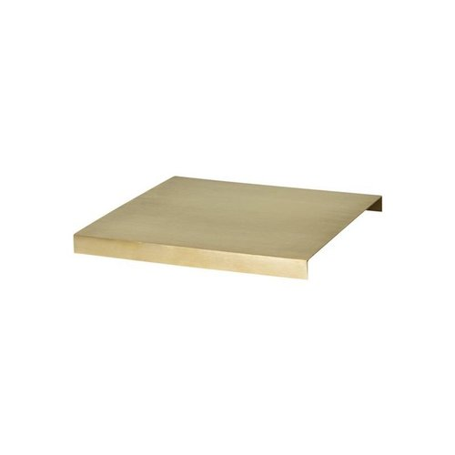 Ferm Living Messing plank voor plantenbak