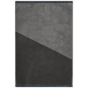 Mette Ditmer Gastendoek Shades Grijs 38x55 cm