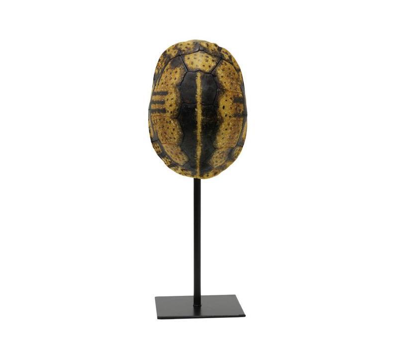 Schildpad ornament geel