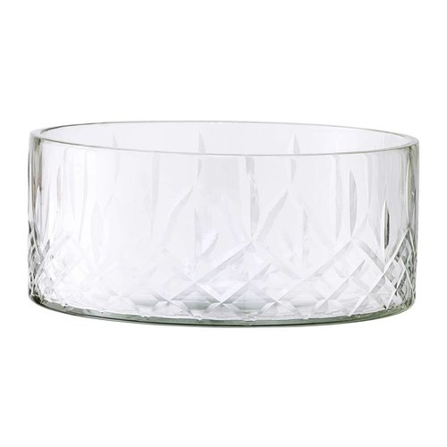 Bloomingville Kom helder glas 14.5xH6cm