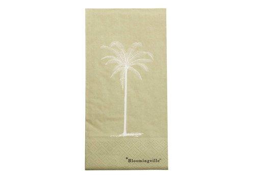 Bloomingville Servet groen papier