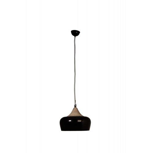 Dutchbone Coco hanglamp - zwart glanzend
