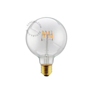 LED-lamp 125 mm spiraal - 5W - 2200K - 280 lm E27