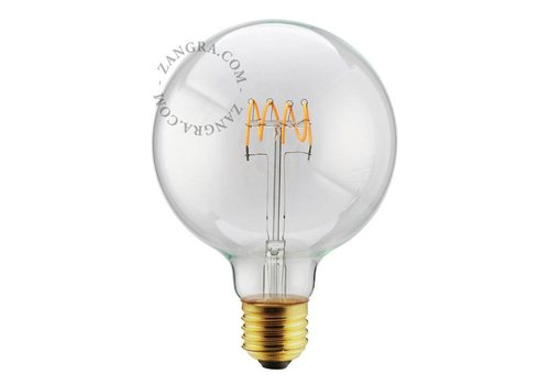 Zangra LED-lamp 125 mm spiraal - 5W - 2200K - 280 lm E27