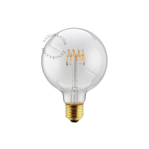 Zangra LED-lamp 125 mm spiraal - 5W - 2200K - 280 lm E27