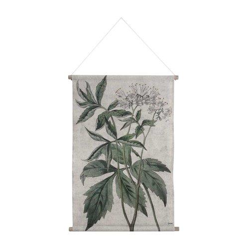HK Living Wandkaart L Botanisch