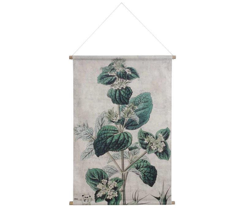 Wandkaart XL Botanisch
