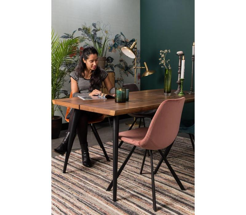 Franky fluweel stoel