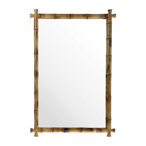 HK Living Handgemaakte spiegel van bamboe