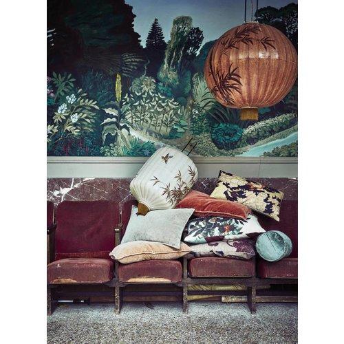 HK Living Kyoto kussen met print (35x60)