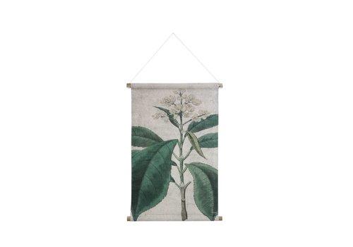 HK Living Wandkaart M Botanisch
