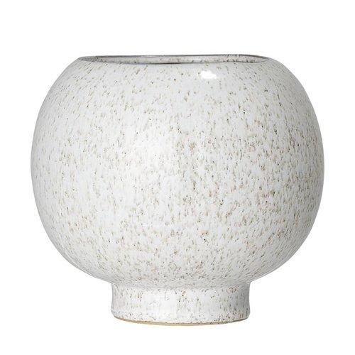 Bloomingville Bloempot in keramiek naturel Ø15 x H14 cm