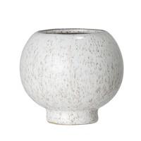 Bloempot in steen naturel 11 x H10 cm