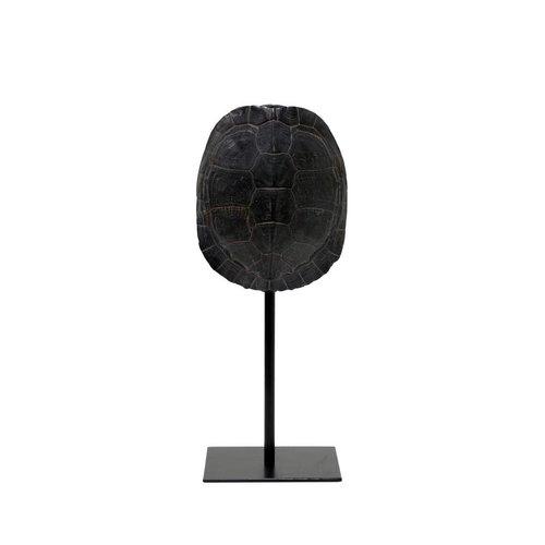 HK Living Schildpaddenschild ornament zwart