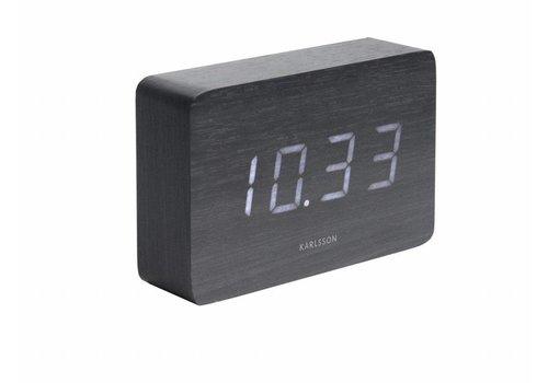 Karlsson Square alarmklok Wit LED tafelmodel