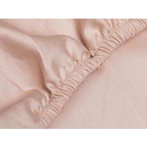 Yumeko Dusty rose hoeslaken katoensatijn